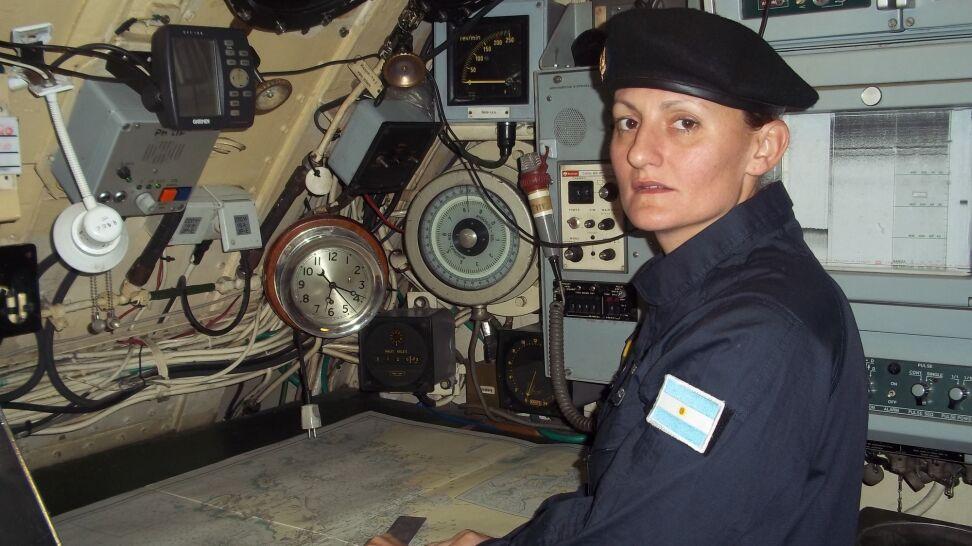 Chluba argentyńskiej marynarki, pierwsza kobieta pod wodą. Kim jest Eliana Krawczyk