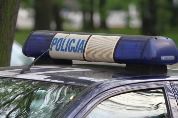 Policja zatrzymała kierowcę i pasażera samochodu Maciej Wężyk/tvnwarszawa.pl