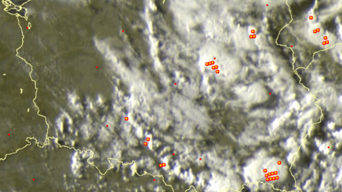 Grzmi nad Polską. Wiele miejsc pod znakiem burz