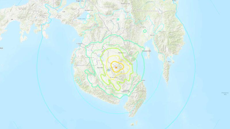 Trzęsienie ziemi miało magnitudę 6.4 (USGS)