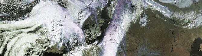 Ekshuragan kształtuje pogodę w Europie. Powieje też w Polsce