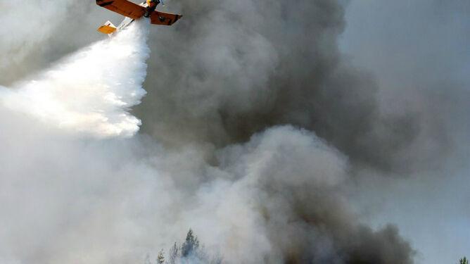 Coraz wyższa temperatura, <br />coraz większe zagrożenie pożarowe