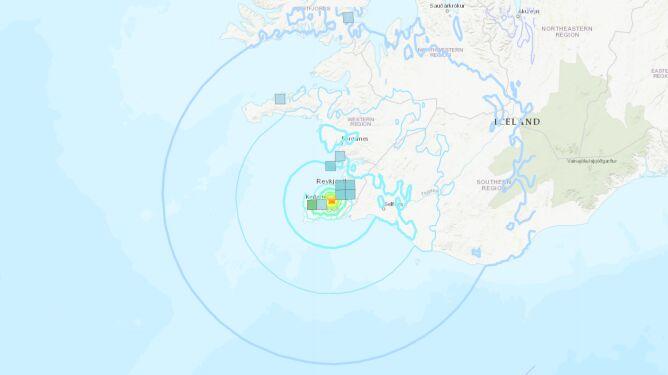 Silne trzęsienie ziemi na Islandii
