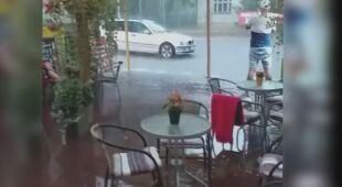 W Dźwirzynie spadło dużo deszczu
