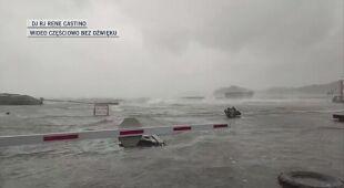 Tajfun Surigae niesie ze sobą silne porywy wiatru